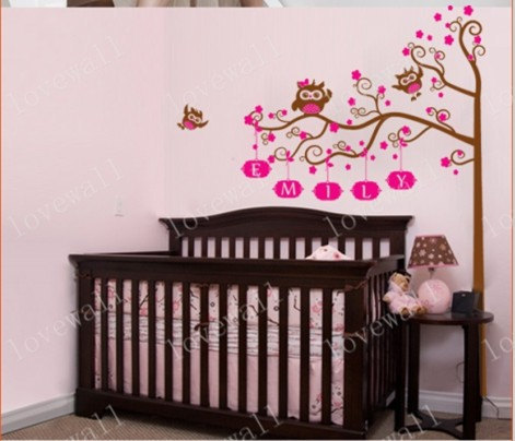 Nursery Stickers For Walls Baby Home Design Ideas - Wall decals nursery nz
